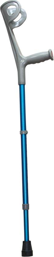 Drive - loopkrukken - 2 stuks - verstelbaar - 101 - 124 cm - blauw