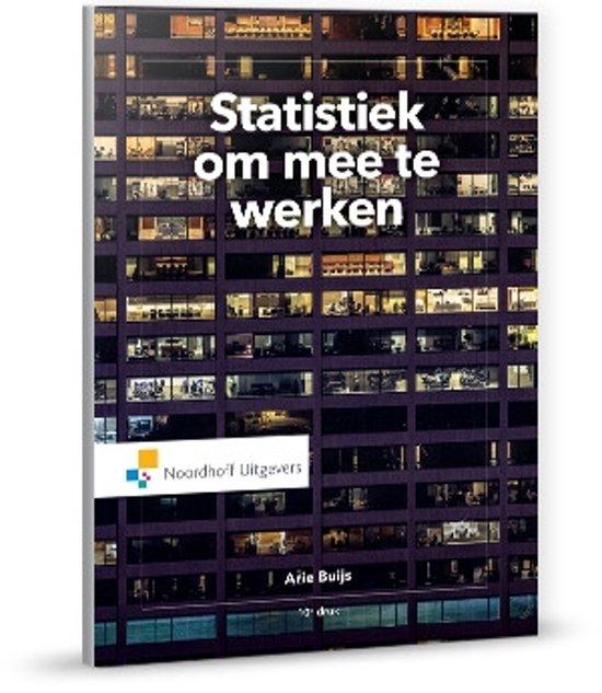 Statistiek om mee te werken - Arie Buys
