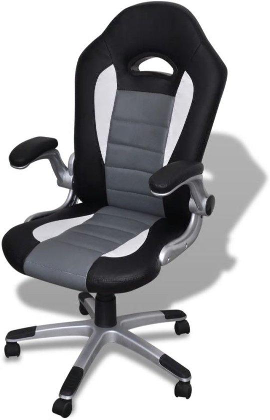 Hjh Office Bureaustoel Racer Sport.Hjh Office Racer Sport Bureaustoel Game Zwart Grijs