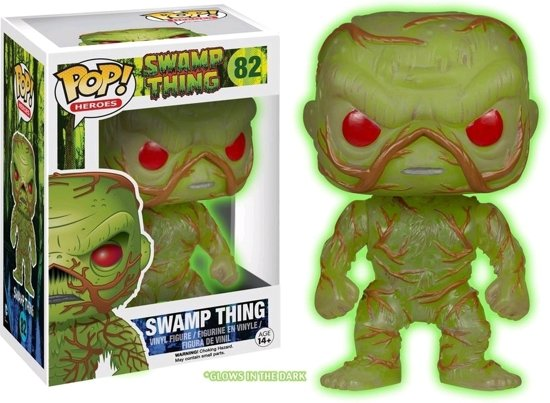Funko Pop! Dc: Swamp Thing Gitd Limited Edition - Verzamelfiguur