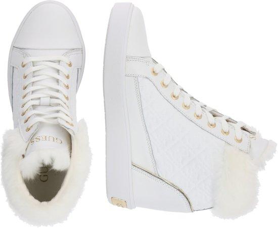 | Guess sneakers hoog furr Wit 38
