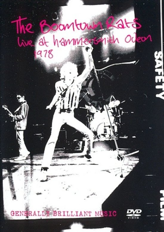 Cover van de film 'Boomtown Rats - Live Hammersmith'