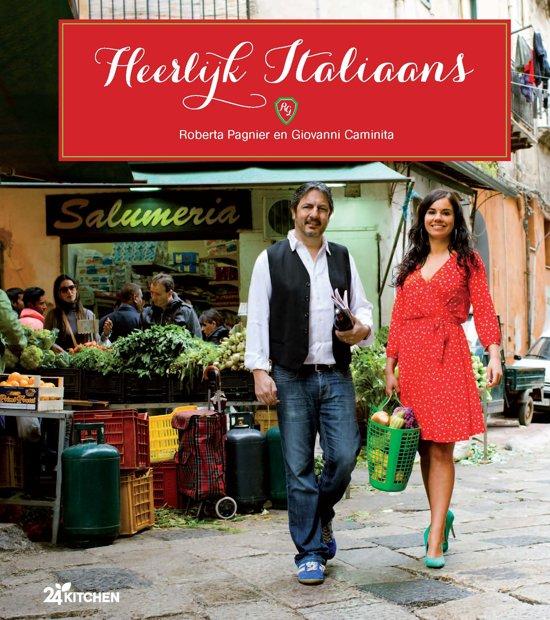 Boek cover Heerlijk Italiaans van Roberta Pagnier (Hardcover)