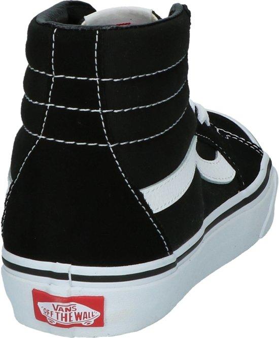 Vans SK8 Hi Sneakers Unisex ZwartWit Maat 37