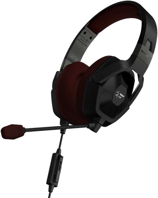 Fatal1ty by Monster FXM 100 - High Performance Over-Ear Gaming Headset