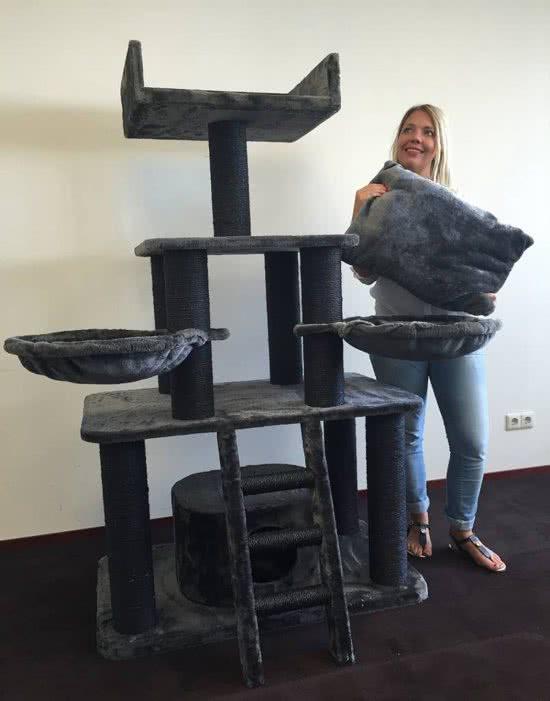 Krabpaal Black Panther voor grote of zware katten