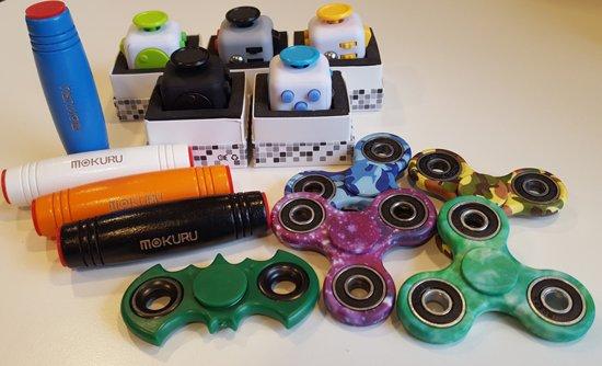 Afbeelding van het spel Fidget Spinner Fidget Stick Mokuru Fidget Cube