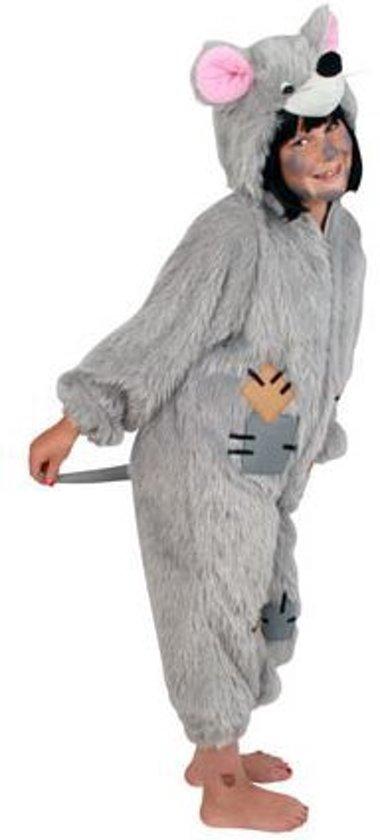 Kostuum pluche rat kind Maat 164 - 176