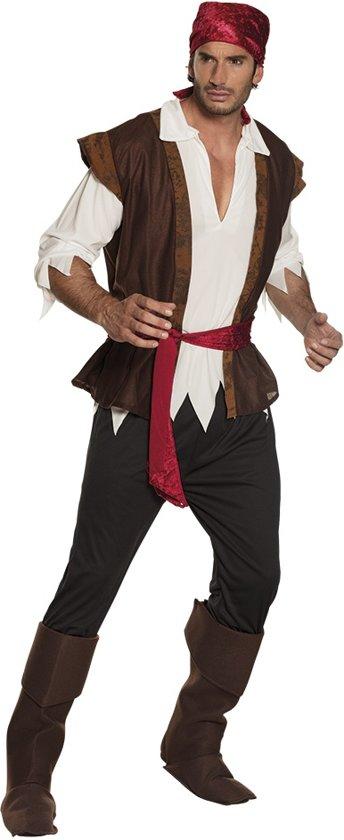 Piraat Thunder - Kostuum - Maat 50/52