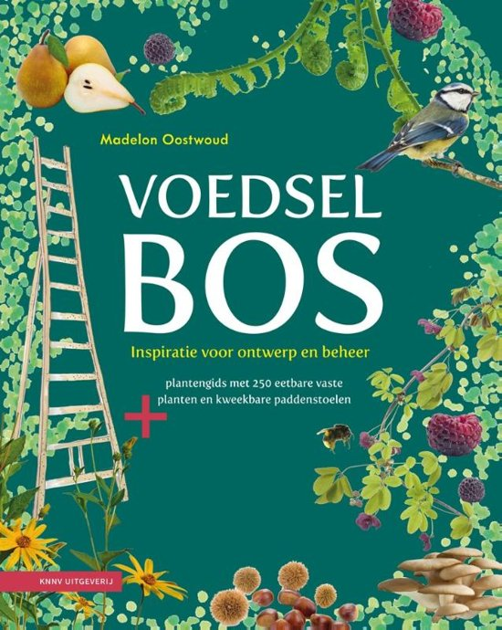 Boek cover Voedselbos van Madelon Oostwoud (Hardcover)