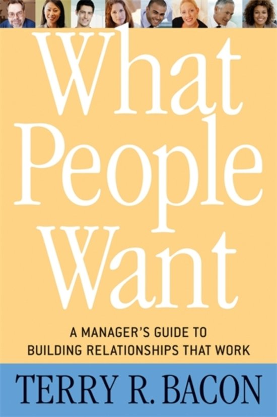 What People Want