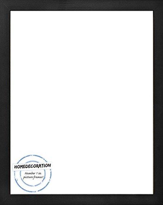 Homedecoration Misano – Fotolijst – Fotomaat – 27 x 88 cm  – Zwart houtnerf