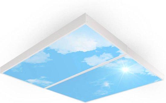 Easy Daylight Panel   Wolkenplafond lamp   Set van 2