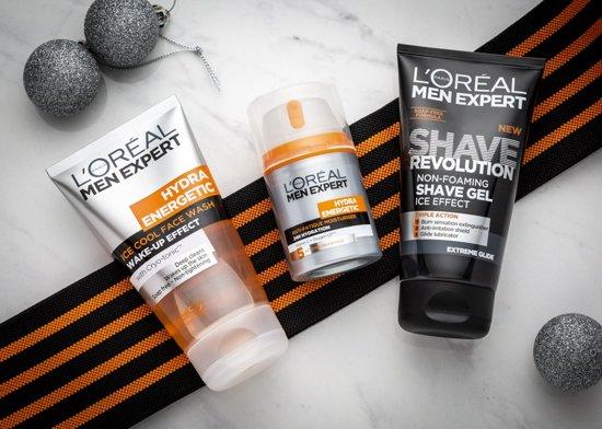 L'Oreal Men Expert Kick Start Kit Hydra Energetic 3-delige geschenkset voor hem