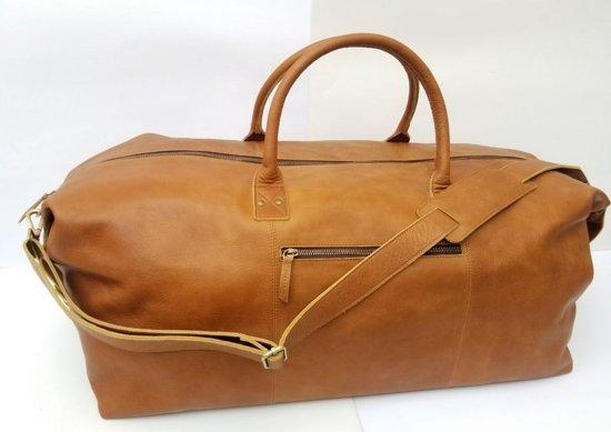 86a751ae763 Lederen reistas - leer tas - duffle bag leather - cowgirl leather bag - leren  reistas