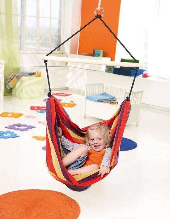 Kinderhangstoel 'Relax' rainbow