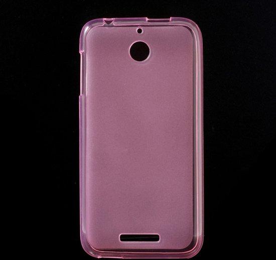 HTC Desire 510 TPU Case Roze Transparant in Zwolle