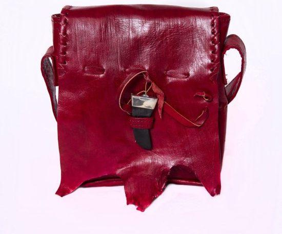 Damestas Leren Style 'qabli' rood Boho Doenya gqx5wfBOw