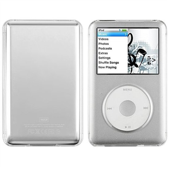 Crystal Case / Bescherm Cover Hoes voor iPod Classic