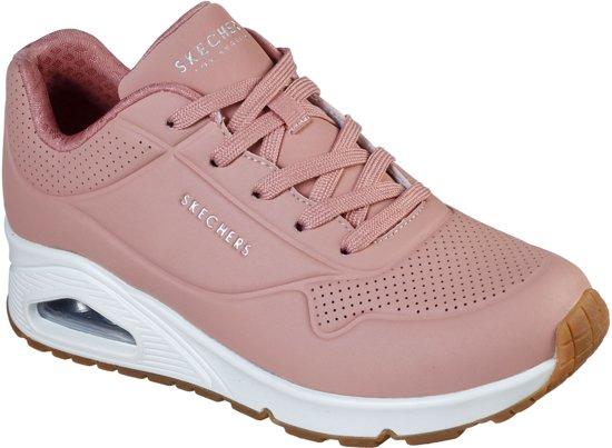 Skechers Uno Stand On Air Sneakers Maat 37 Vrouwen rozewit