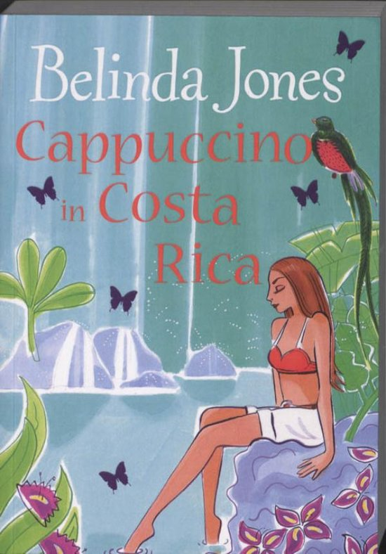 Roman: Cappuccino in Costa Rica cover