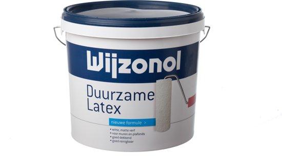 Wijzonol Duurzame Latex, professionele kwaliteit – 10 liter – Wit