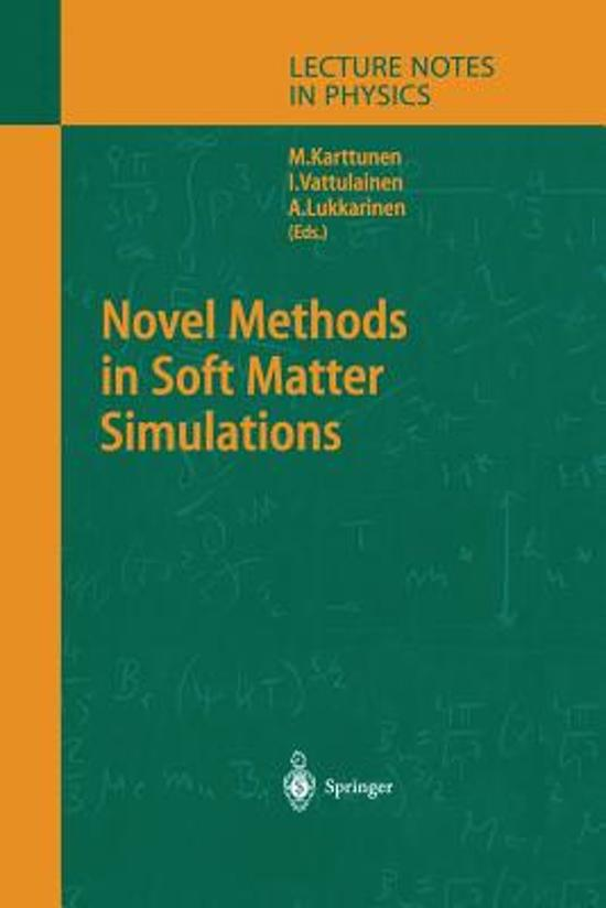 Novel Methods in Soft Matter Simulations