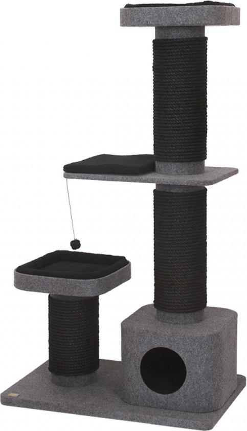 Krabpaal comfort plus pyrite Grijs 86x56x153cm