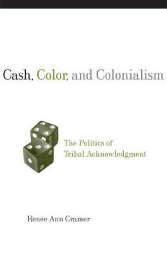 Cash, Color and Colonialism
