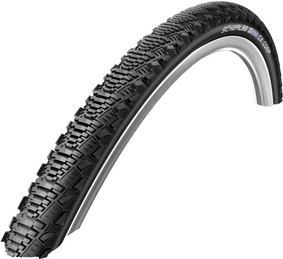 SCHWALBE CX Comp racefietsband 28 inch SBC Reflex draad zwart  40-622 | 700 x 38C