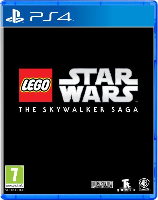 Cover van de game LEGO Star Wars: The Skywalker Saga - PS4