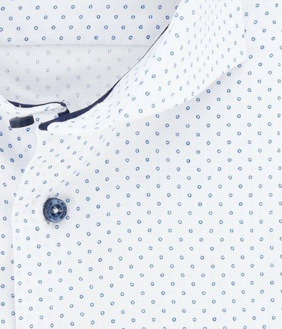 Ledub Overhemd Tailored Fit Extra Lange Mouw Wit Maat 44 xJ85LIhZ 8uesZBz3