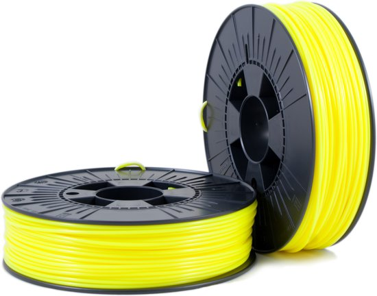 PLA 2,85mm yellow fluor 0,75kg - 3D Filament Supplies