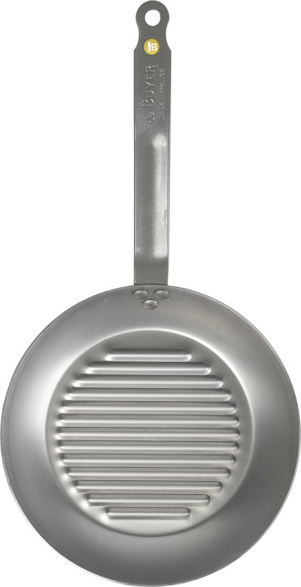 De Buyer Mineral B Element Grillpan à 26 cm