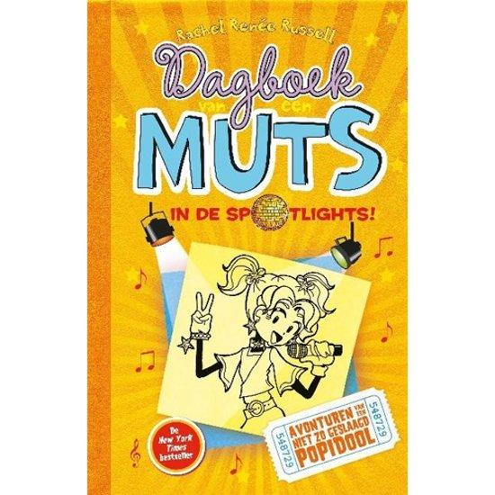 Boekomslag voor Dagboek van een muts 3 - In de spotlights!
