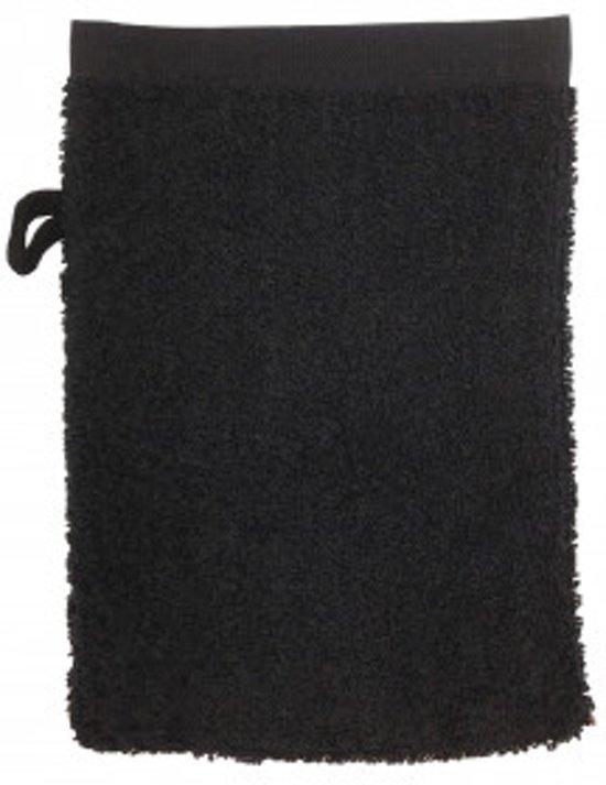 The One Washandje 450 gram 15x21 cm Zwart