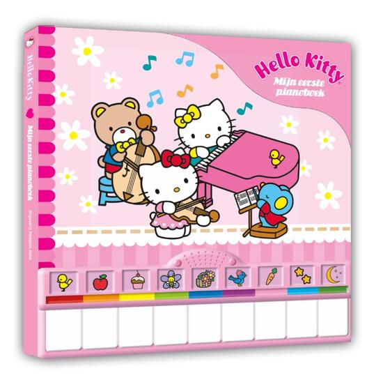 Boek cover Hello Kitty - mijn eerste pianoboek van nvt (Hardcover)