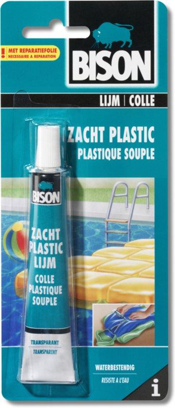 Bison zacht plastic lijm 25 ml for Vijverfolie plakken