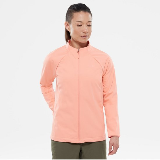 The Flower North Dames Orange Softshell Jacket Jas Desert Inlux Face r74wqpr
