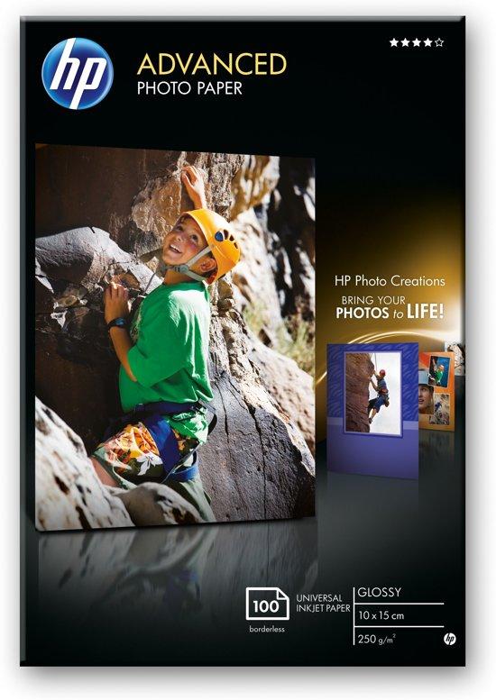 HP Fotopapier - 10x15cm / 100 vellen
