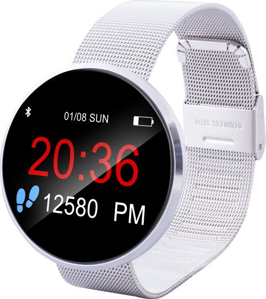Point of View 017S - Smartwatch - Zilver