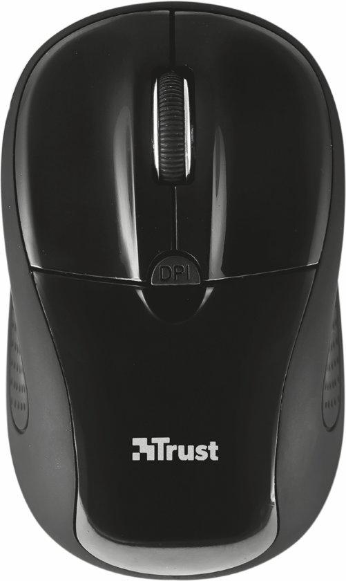 Trust Primo - Draadloze Mini Muis - Zwart