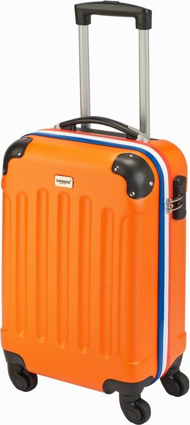 8de59eea83e bol.com | Princess Traveller Vienna Handbagagekoffer - 55 cm - Oranje
