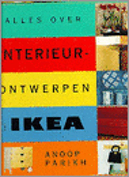 Boek cover Alles over interieurontwerpen met Ikea van Joanna Farrow (Hardcover)