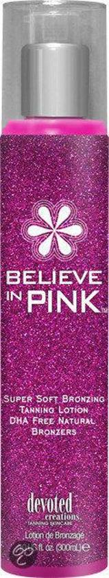 Devoted Creations Zonnebankcrème Believe in Pink Natural 300 ml + Gratis aftersun 15 ml
