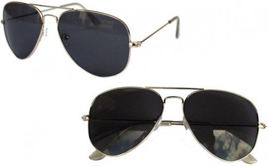 6696a4a440ded8 Pilotenbril met getinte glazen