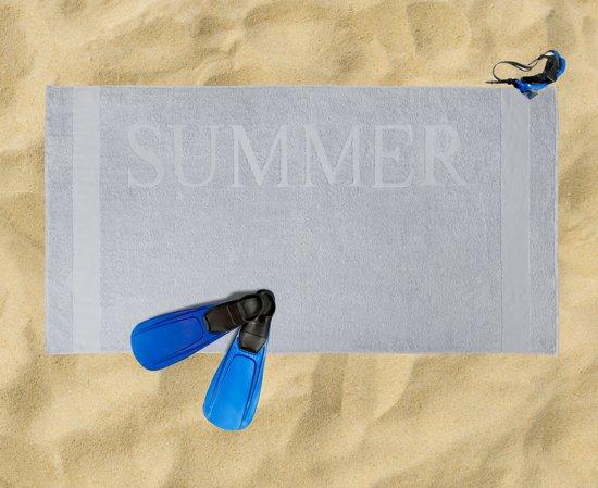 Strandlaken Summer - 90x180 - Lichtgrijs