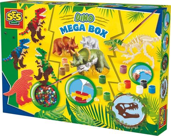SES Mega box dino's