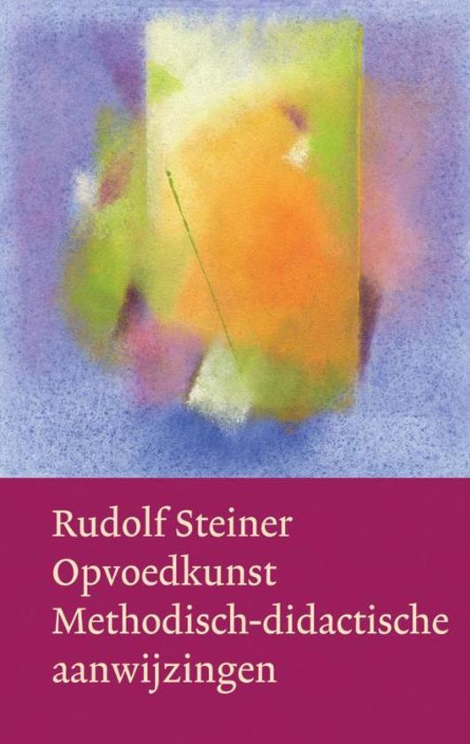 Boek cover Opvoedkunst van Rudolf Steiner (Hardcover)