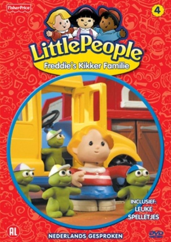 Little People - Freddie's Kikker Familie
